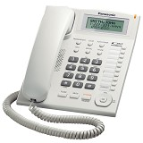 PANASONIC Corded Phone [KX-TS880] - White - Corded Phone